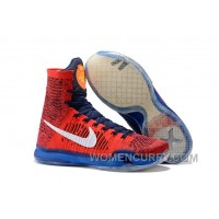 "Nike Kobe 10 Elite High ""American"" Mens Basketball Shoes Discount NrT2AH"