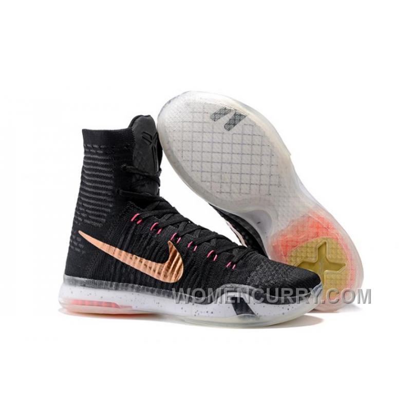 "Nike Kobe 10 Elite High ""Rose Gold"" Mens Basketball Shoes Christmas ..."