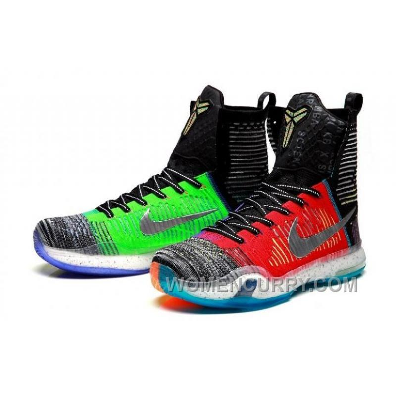 "sports shoes ab37d 61b76 ... Nike Kobe 10 Elite High SE ""What The"" Mens Basketball Shoes Discount  XGiik8 ..."