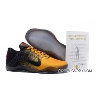 'Bruce Lee' Nike Kobe 11 University Gold/University Red-Black New Style