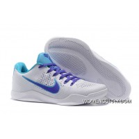 """Draft Day"" Nike Kobe 11 White/Blue Lagoon-Court Purple For Sale"