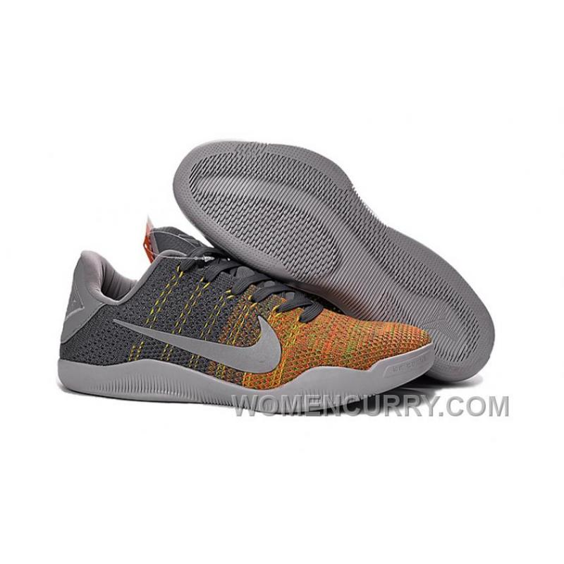 "61cd0bf39d8a Kobe 11 Elite Low ""Cool Grey"" Mens Basketball Shoes Top Deals NKdnep ..."