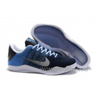Nike Kobe 11 Brave Blue/Metallic Silver-University Blue Christmas Deals HZtWX