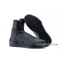 Nike Kobe 9 Elite FTB Anthracite/Anthracite Basketball Shoes Release New Style