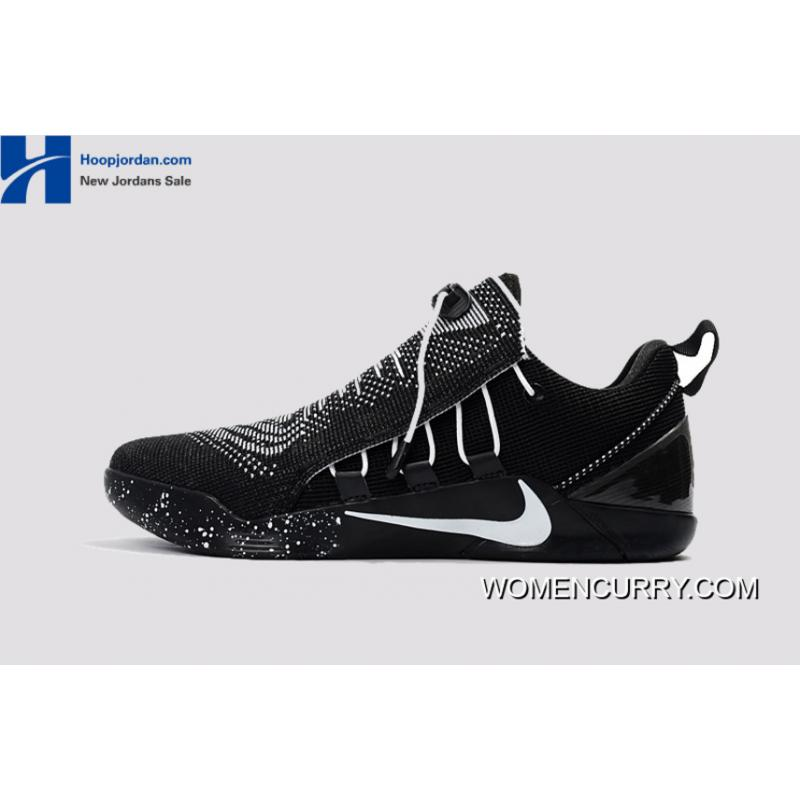 sports shoes e6ac4 9c0af Nike Kobe A.D. NXT Black White Men's Basketball Shoes For Sale