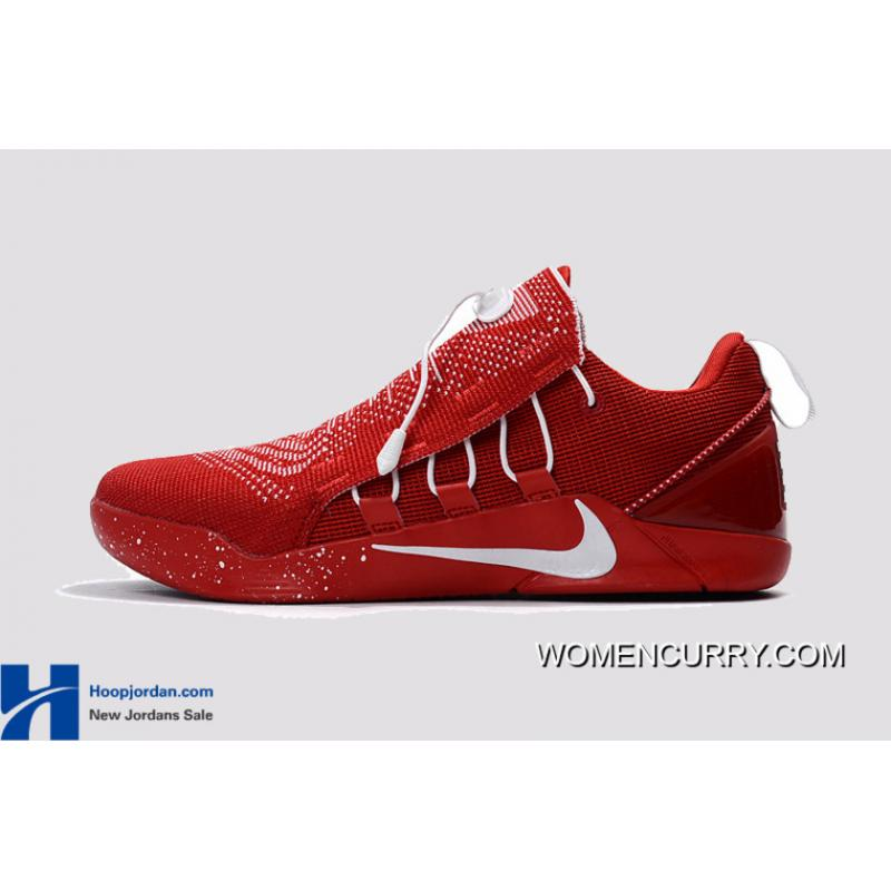 size 40 14141 11369 ... nike kobe a.d. nxt university red white mens basketball shoes discount