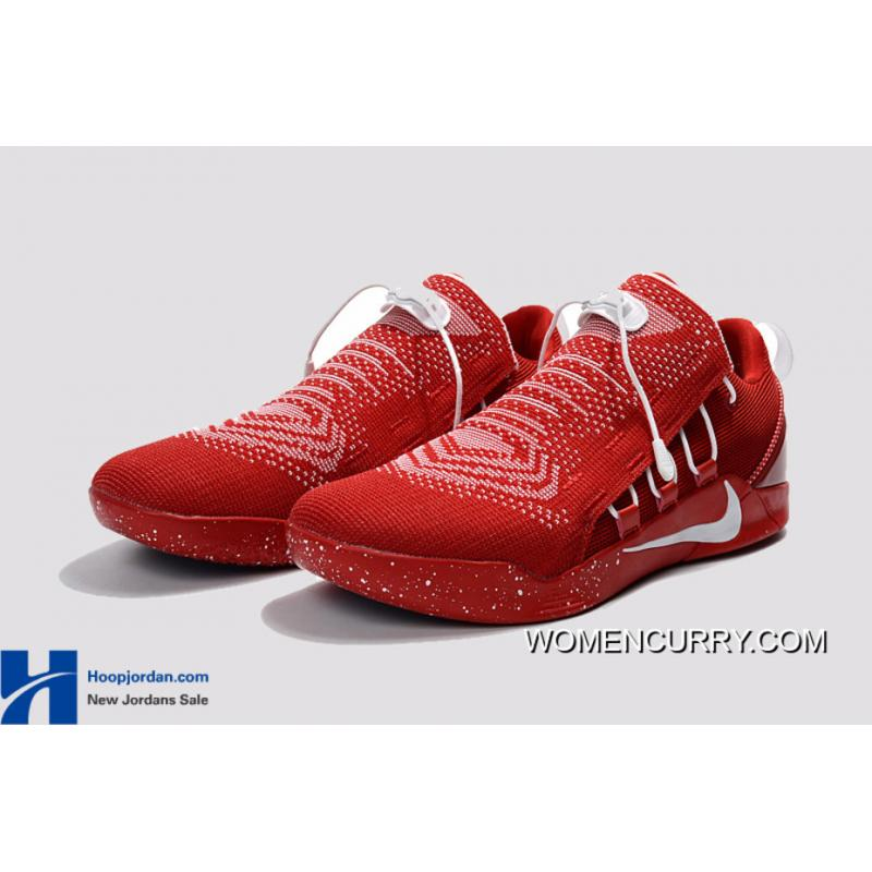 outlet store e54e3 399d6 ... Nike Kobe A.D. NXT University Red White Men s Basketball Shoes Discount  ...