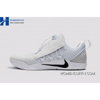Nike Kobe A.D. NXT Wolf Grey/White-Black Men's Basketball Shoes New Release