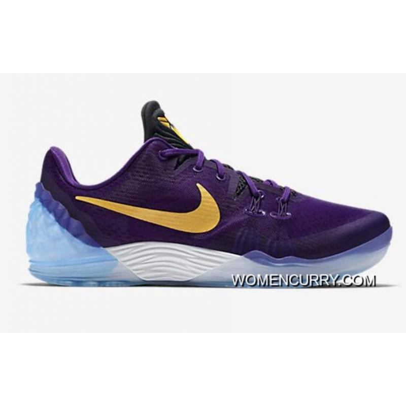 ... buy lakers nike kobe venomenon 5 court purple university gold white  best 390a0 27079 baaacac9c023