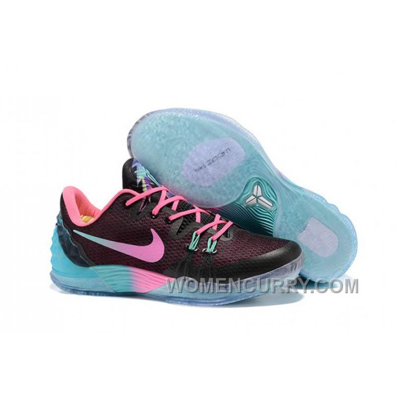 new arrival 3f2f1 eb4f0 NIKE KOBE VENOMENON 5 South Beach Blue Black Pink New Style .