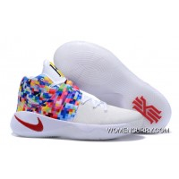 """""""Rainbow"""" Nike Kyrie 2 White-Red/Multi-Color Cheap To Buy"""