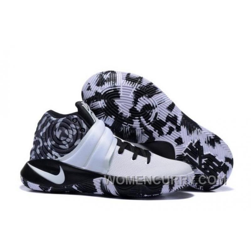 fe024dc862e ... ireland nike kyrie 2 black white mens basketball shoes online xc6cb6b  c2c7a a3f3e