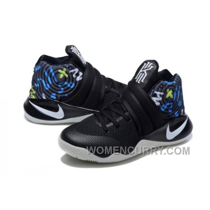 best sneakers 10718 6cf2d ... nike kyrie 2 black multi color mens basketball shoes discount di3jcfb