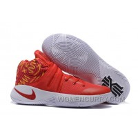 Nike Kyrie 2 Red White Basketball Shoes For Sale 4wrHb