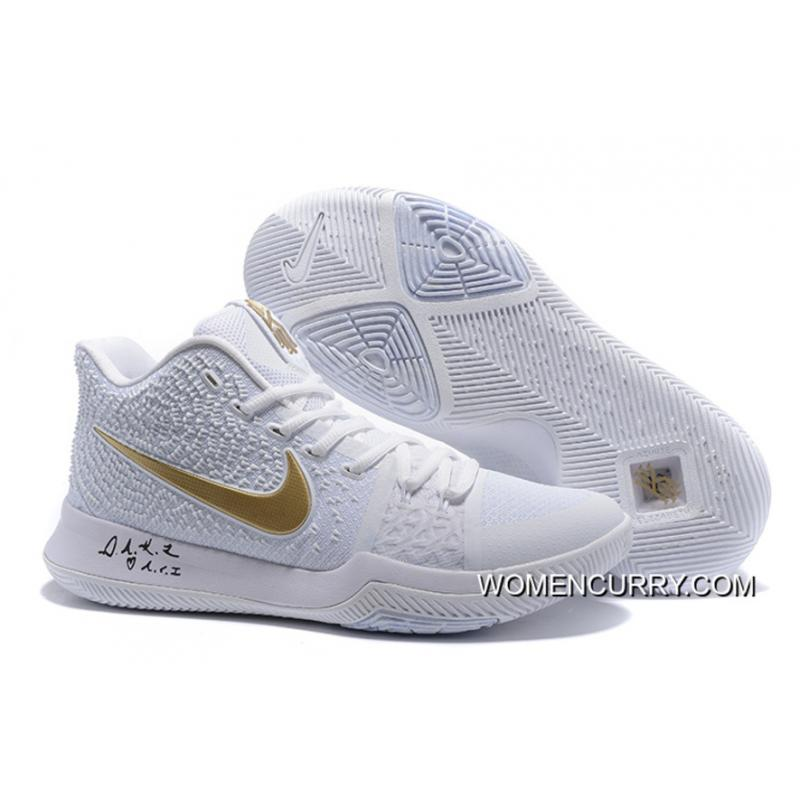 "promo code 4cffb 22161 USD  88.79  304.95. ""White Ice"" Nike Kyrie 3 White Gold Men s Basketball  Shoe New Release · "" ..."
