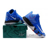 Nike Kyrie 4 Mens Basketball Shoes Royal Blue Best