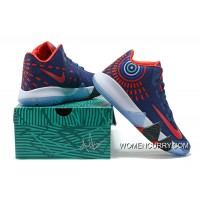 Nike Kyrie 4 Mens Basketball Shoes Blue Red Best