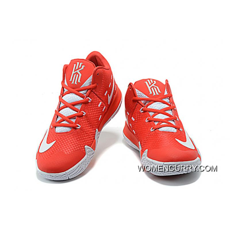 ... Nike Kyrie 4 Mens Basketball Shoes Red Top Deals ...