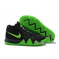 ba1b5a32916a Big Discount Nike Kyrie 4 Black Green