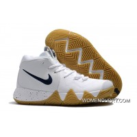Where To Buy Nike Kyrie 4 White Gum-Deep Blue 407ef65e0