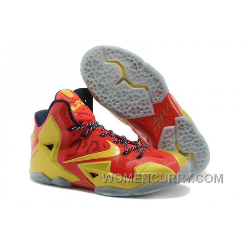 """lowest price 498f6 04856 Nike LeBron 11 """"Ring Ceremony"""" PE Mens Basketball Shoes Free Shipping EG6ami"""