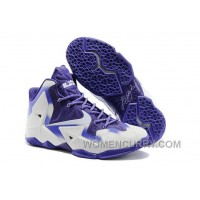 Nike LeBron 11 White/Court Purple For Sale Online Z2nCkps