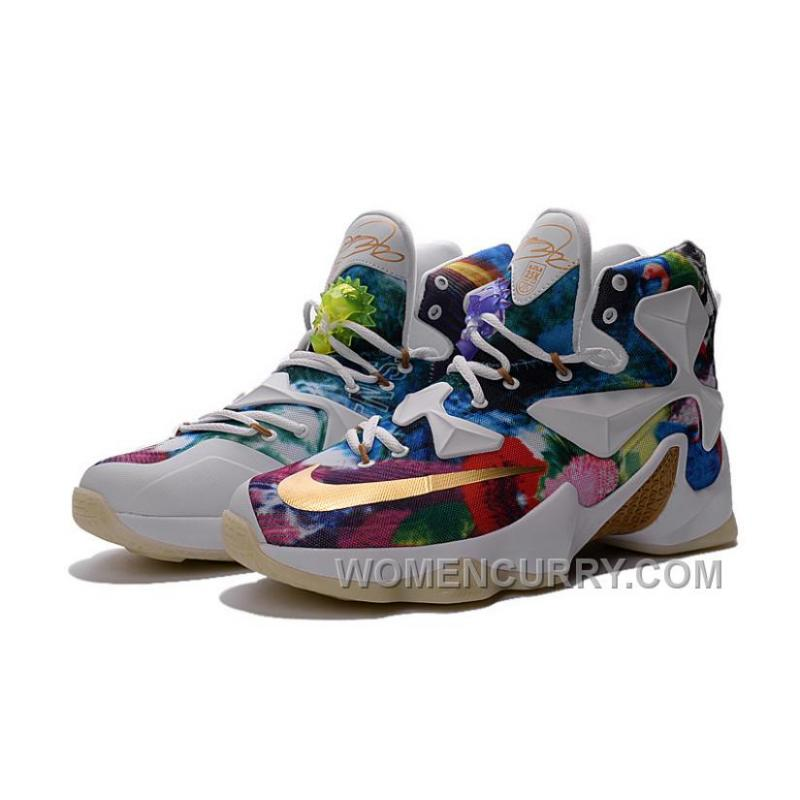 "low priced 1a089 20f1b ... Nike ID LeBron 13 ""25K"" Glow In The Dark Shoe For Sale Online 15559 ..."