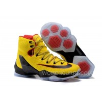 2017 Nike LeBron 13 Elite Yellow/Black-Red Mens Basketball Shoes Free Shipping G7ZBn