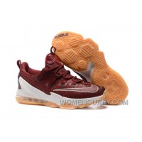 "2017 Nike LeBron 13 Low ""Cavs"" Mens Basketball Shoes For Sale"