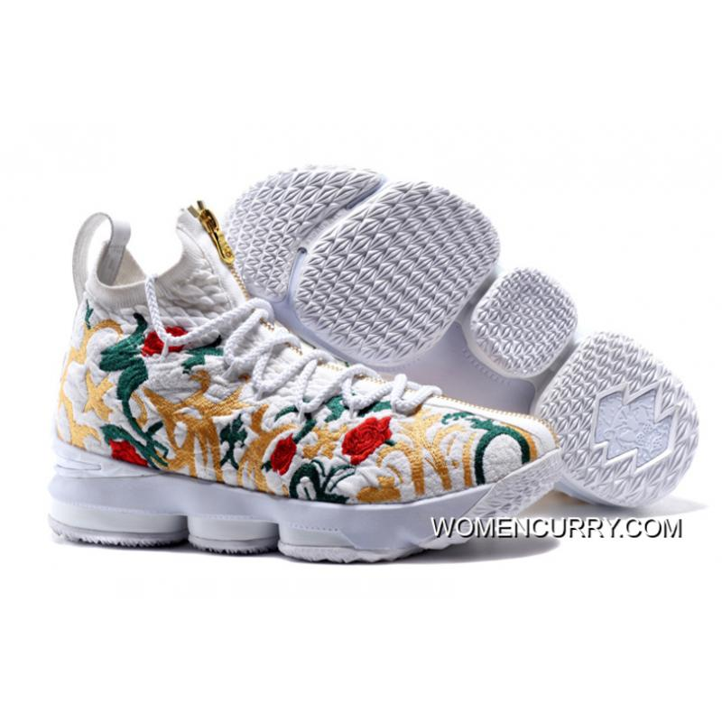 "KITH X Nike LeBron 15 ""Floral"" For Sale b9abe66a95"