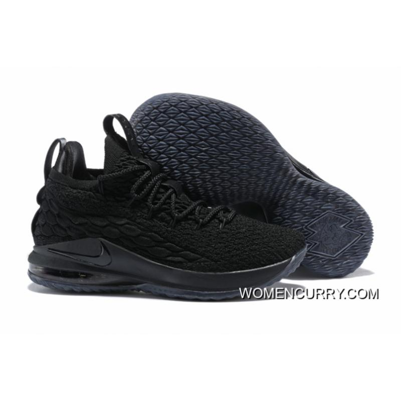 USD  98.60  276.07. Nike LeBron 15 Low Triple Black ... 7ccdb66e7