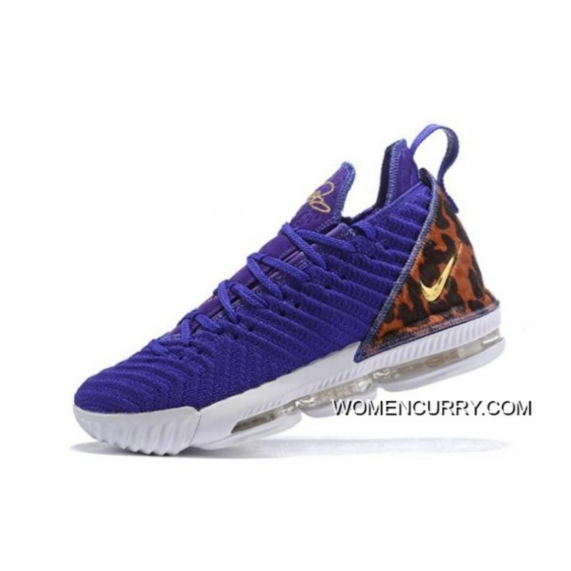 """info for 89730 2b130 Nike LeBron 16 """"King Court Purple"""" Court Purple/Metallic Gold AO2588-500  Outlet"""