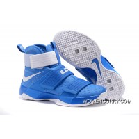 """Kentucky"" Nike Zoom LeBron Soldier 10 Game Royal-White Online"