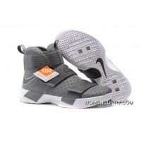 Nike LeBron Soldier 10 Cool Grey/White New Style