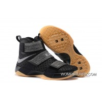 Nike LeBron Soldier 10 'Black Gum' Top Deals