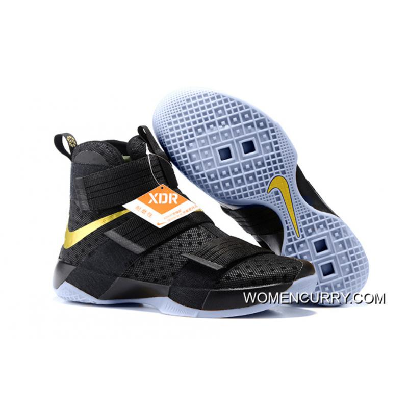 cheap for discount 89075 f0ee4 USD  85.69  277.59. Nike LeBron Soldier 10 Finals ID. Black Gold ...