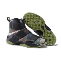 Nike LeBron Soldier 10 SFG Camo Black/Bamboo-Medium Olive Best