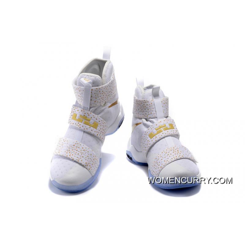 278fa0ca91a usa nike zoom lebron soldier 10 white and gold a95e3 7ca39
