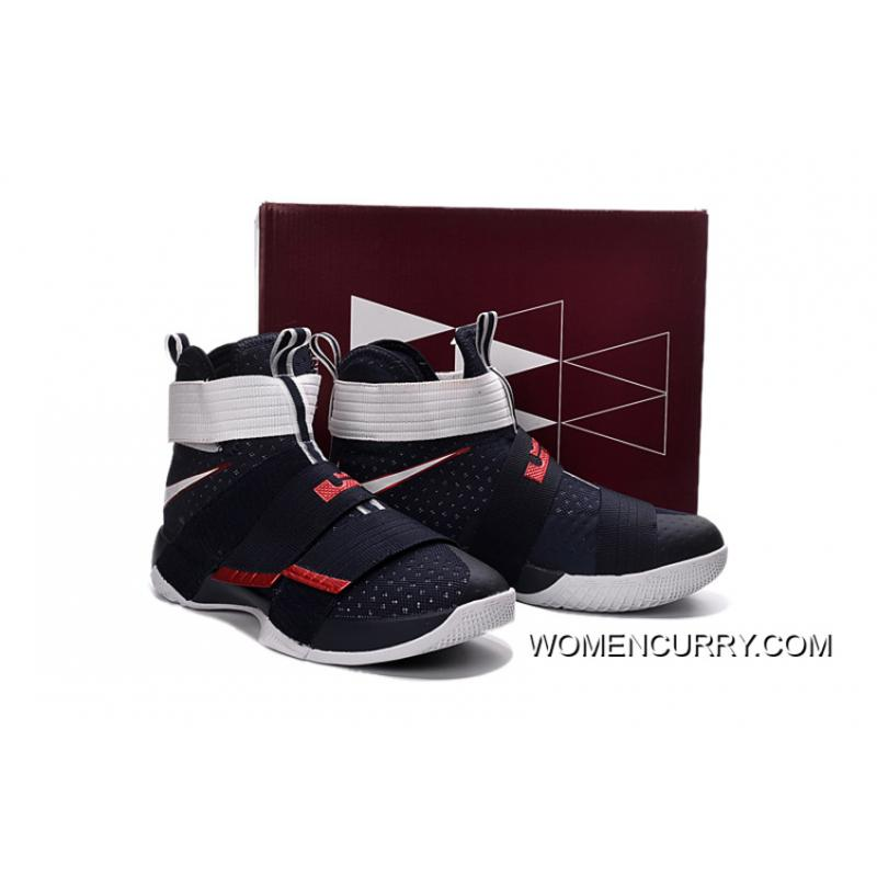 the latest 9c53f 413b1 ...  USA  Nike LeBron Soldier 10 Obsidian White-University Red Super Deals  ·   ...