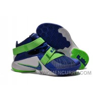 "Nike LeBron Soldier 9 ""Sprite"" Mens Basketball Shoes Lastest KNrb4"