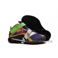 """Nike LeBron Soldier 9 """"What The LeBron"""" Mens Basketball Shoes Cheap To Buy KQh74"""