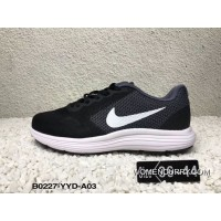 Copuon Black Grey Hot Sale Nike LUNAREPIC Revolutionaries 3 REVOLUTION 3 Women And Men Picking Running Shoes SKU 819300