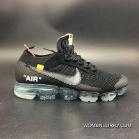 New Release Version Nike OFF-WHITE League NIKE 2018 Zoom Air Black Transparent Bottom Version