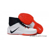 Nike Zoom Clear Out White/Obsidian/Bright Crimson Top Deals