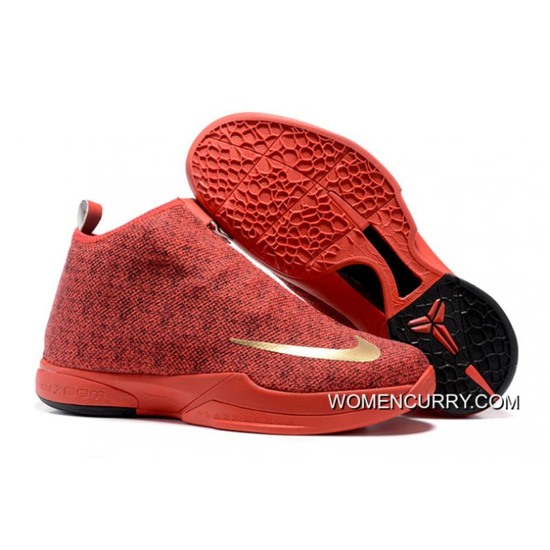 super popular 14908 2f240 ... closeout nike zoom kobe icon university red new release a6456 1bd36 ...