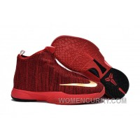 Nike Zoom Kobe Icon University Red/Metallic Gold For Sale YbW655Q