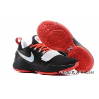 Nike Zoom PG 1 Black White Red Cheap To Buy