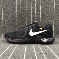 e23fa722ba NIKE REVOLUTION 4 X OFF-WHITE Joint Mesh Breathable Running Shoes  908988-011 Size
