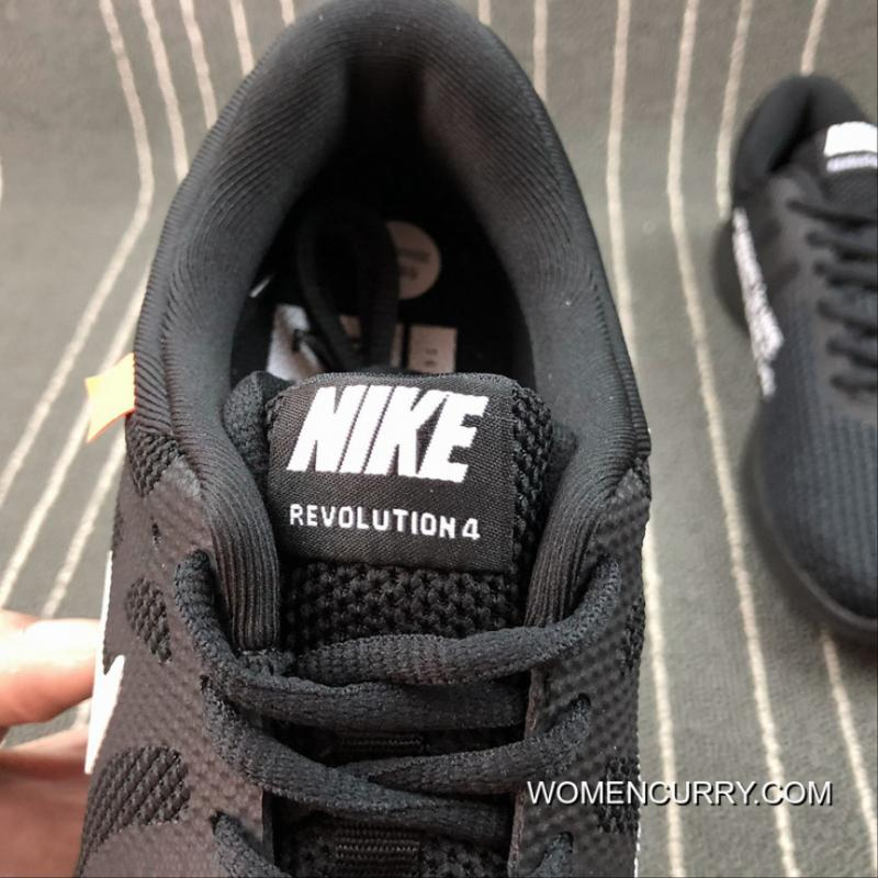 ... NIKE REVOLUTION 4 X OFF-WHITE Joint Mesh Breathable Running Shoes 908988 -011 Size ... b0e12d679e4a