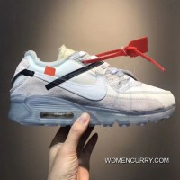 Men OFF-WHITE X NikeLab Air Max 90 SKU 120979-259 Big Discount f99ce3228